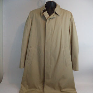 London Fog Men's Trench Coat 42 L CL805 0519